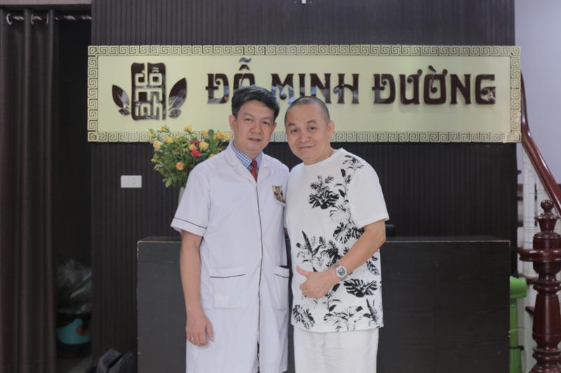 Nghệ sĩ Xuân Hinh lựa chọn nhà thuốc Đỗ Minh Đường là cơ sở thăm khám bệnh thoái hóa cột sống cổ