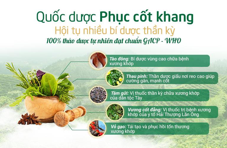 Bài thuốc sở hữu nhiều bí dược lần đầu tiên được ứng dụng tại Việt Nam