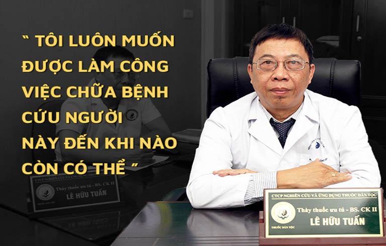 Bác sĩ Tuấn và tâm huyết với công tác khám chữa bệnh