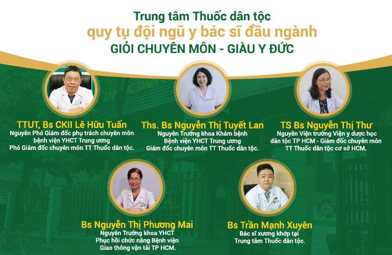 Trung tâm Thuốc dân tộc quy tụ đội ngũ y bác sĩ đầu ngành